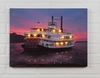 Radiance Lighted Canvas Riverboat