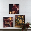 Radiance Lighted Canvas Signs of Christmas
