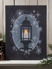 Radiance Lighted Canvas Snowflake Lantern