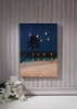 Radiance Lighted Canvas Starry Night Lighted Beach Canvas