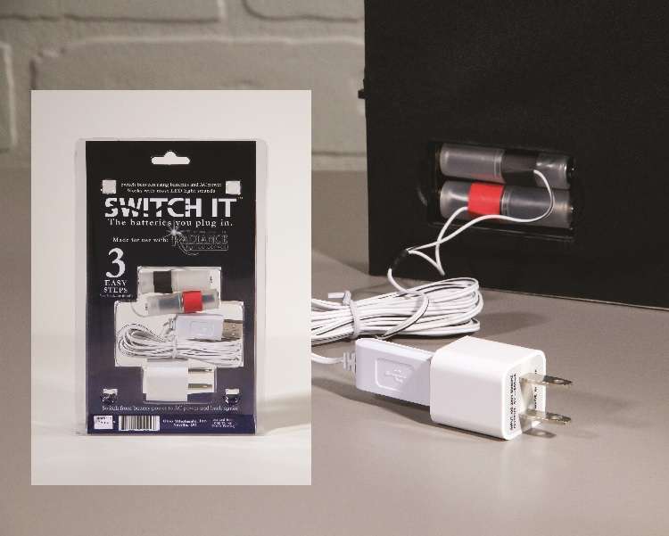Switch It electric power converter for Radiance Lighted Canvas