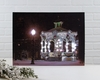 Radiance Lighted Canvas Towne Square Christmas Gazebo