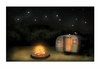 Radiance Lighted Canvas Under the Stars Vintage Camper