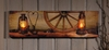 Radiance Lighted Canvas Western Mantle Canvas