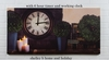 Radiance Lighted Canvas with Timer Clock and Candles