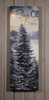 Radiance Lighted Cavnas Peace on Earth Pine Tree