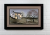 Radiance Lighted Matted Framed Canvas White House Farm by Billy Jacobs