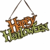 RAZ 14 Inch Happy Halloween Hanging Sign