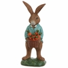 RAZ 16 inch Garden Bunny with Basket of Carrots