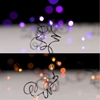 RAZ 20 ft Purple or Orange String Lights Battery Operated