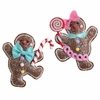 RAZ  7 inch Stuffed Gingerbread Christmas Ornaments