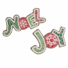 Raz 9 inch Joy and Noel Ornament
