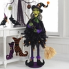 RAZ Black and Bling 4 Ft Diva Witch