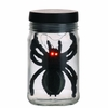 RAZ Black and Bling 6.5 Inch Spider in Jar