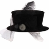 RAZ Black and Bling Halloween Riding Hat
