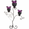 RAZ Black and Bling Perched Owl on Stand