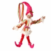 RAZ Candy Sprinkles 19 inch Posable Christmas elf in candy colors