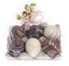 RAZ Chocolate and Vanilla Eggs Set of 6