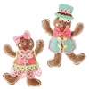 RAZ Chocolate Moose 10 inch Gingerbread Ornament