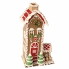 RAZ Chocolate Moose 10 inch Tall Gingerbread House