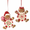 RAZ Chocolate Moose 3.5 inch Gingerbread Ornament