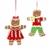 RAZ  4.5 inch Gingerbread Ornament