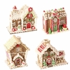 RAZ Chocolate Moose 5.5 inch Gingerbread House Ornament