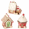 RAZ Chocolate Moose 5.5 inch Gingerbread Train