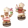 RAZ Chocolate Moose 5 inch Gingerbread Chef Ornament