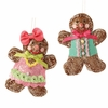RAZ Chocolate Moose 6.5 inch Gingerbread Ornament