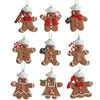 RAZ Chocolate Moose 7.5 inch Mini Gingerbread Ornament in Box