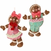 RAZ Chocolate Moose 7 inch Gingerbread Ornament