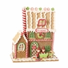 RAZ Chocolate Moose 9 inch Gingerbread House