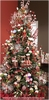 RAZ Chocolate Moose Decorated Christmas Tree 7.5 ft