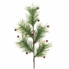 RAZ Cookie Confections 29inch Glittered Pine with Ball Spray