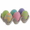 RAZ Cookie Story 6 inch Glittered Easter Eggs