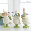 RAZ Cottontail Toile Easter Bunnies
