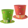 RAZ Cottontail Toile Party Top Hats