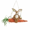 RAZ Easter 10.5 inch Bunny on Carrot