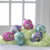 RAZ Easter 5 inch Glittered Egg Ornament