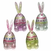 RAZ Easter 6.5 inch Foiled Easter Bunny Egg
