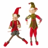 RAZ Forest Friends  29 inch Posable Elf Set of 2