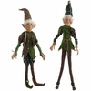 RAZ Forest Friends  31 inch Posable Elf set of 2