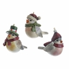 RAZ Fresh Greens 2.5 inch Bird Ornaments