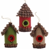 RAZ Fresh Greens 6 inch Birdhouse Ornament