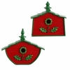 RAZ Fresh Greens 9.5 inch Birdhouse Ornament