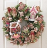 RAZ Gingerbread Wreath