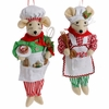 Raz Gumdrops and Jelleybeans 11 inch Baking Mouse Ornament