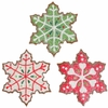 Raz Gumdrops and Jelleybeans 7 inch Snowflake Ornament