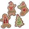 RAZ Gumdrops and Jellybeans 8 inch Gingerbread Cookie Ornaments